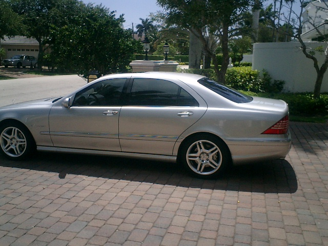 2004  Mercedes-Benz S55 AMG  picture, mods, upgrades