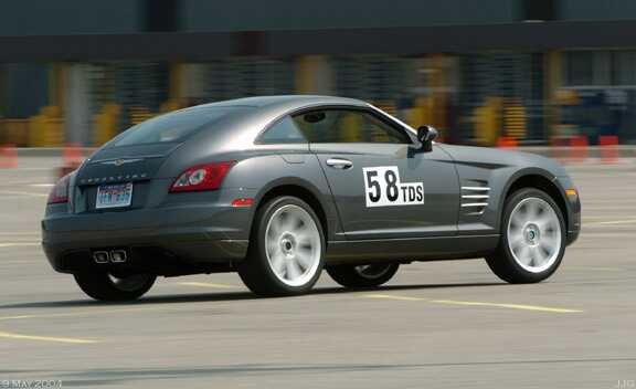 2004 Chrysler Crossfire Autostick