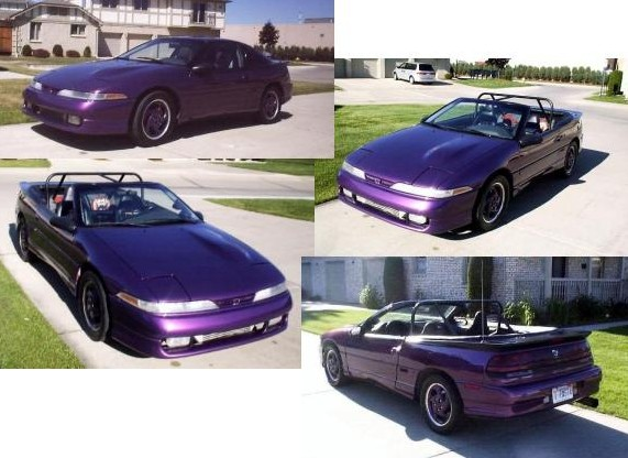 1991 Eagle Talon TSI custom roadster