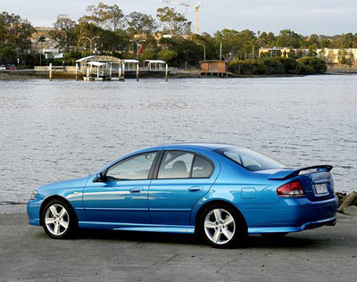 2004 Ford Falcon XR6 Turbo