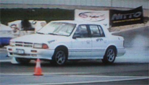 1991 Dodge Spirit R/T 1/4 mile Drag Racing timeslip specs 0-60