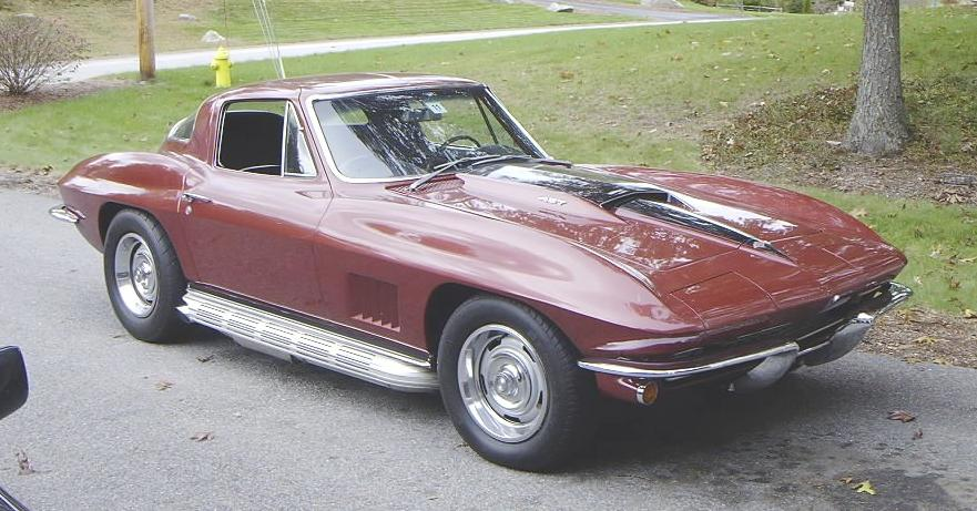 1967 Marlborough Maroon Chevrolet Corvette Sting Ray picture, mods, upgrades
