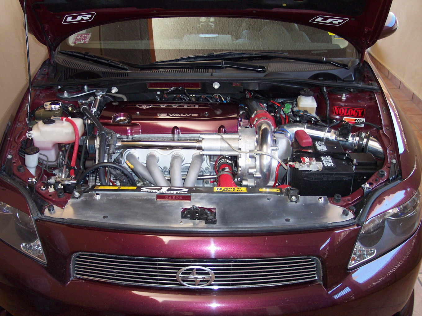 2005 Scion tC TRD Supercharger  Nitrous