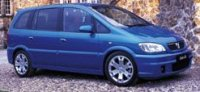 2001  Vauxhall Zafira GSi picture, mods, upgrades