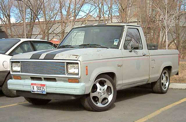 1985  Ford Ranger shortbed picture, mods, upgrades