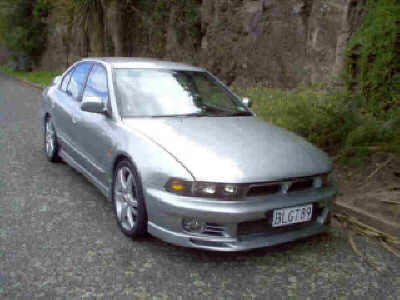 1997 Mitsubishi Galant VR4 1/4 mile trap speeds 0-60 - DragTimes.com