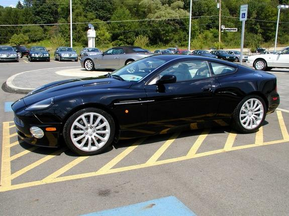 2003  Aston Martin Vanquish V12 picture, mods, upgrades
