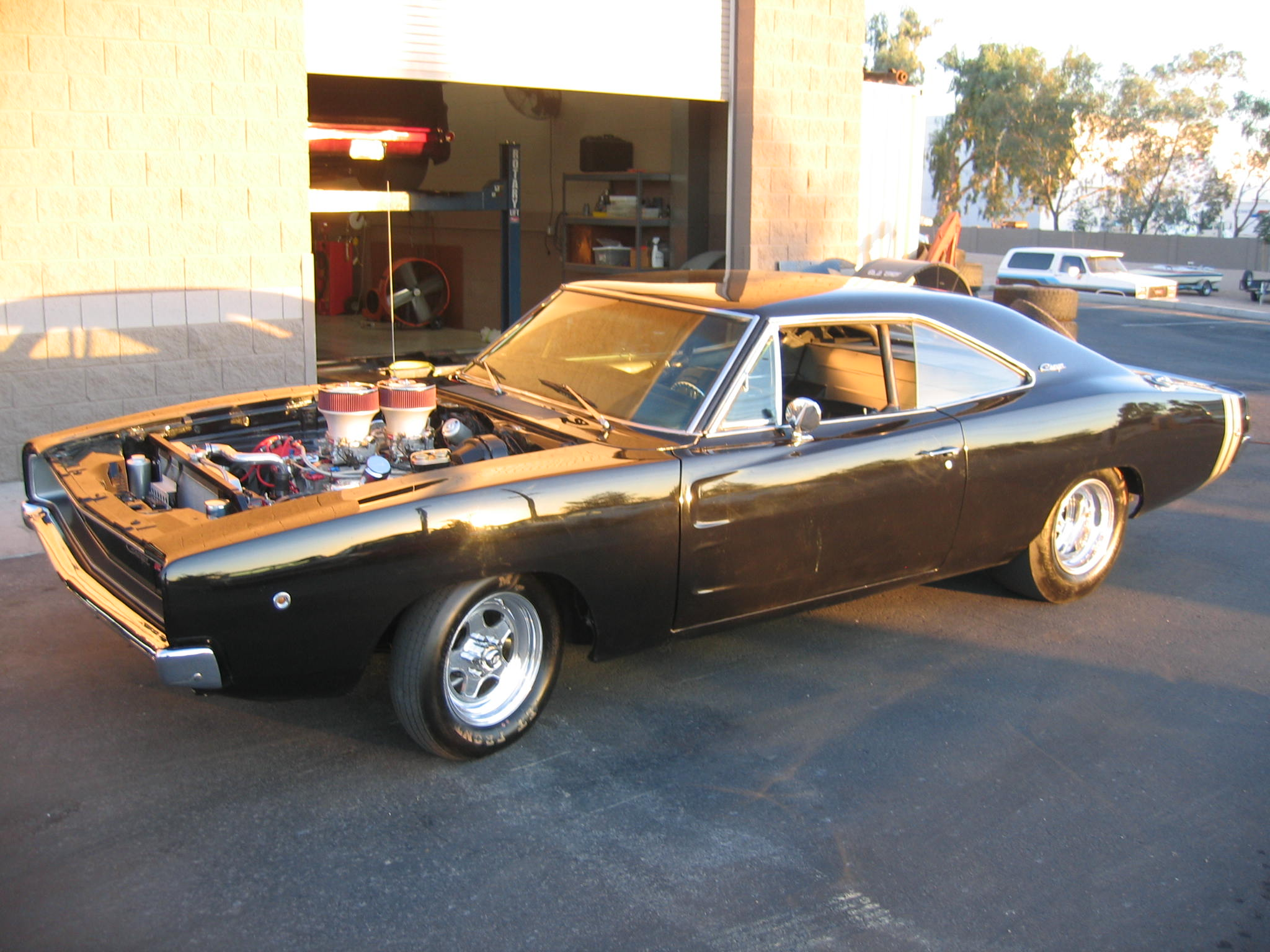 1968  Dodge Charger Hemi picture, mods, upgrades