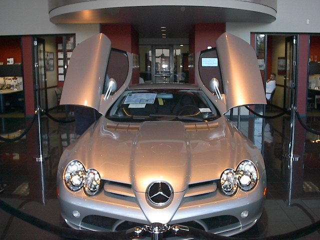 2005  Mercedes-Benz SLR  picture, mods, upgrades