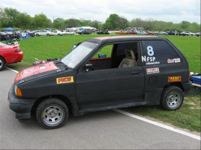 Ford Festiva Drag Car