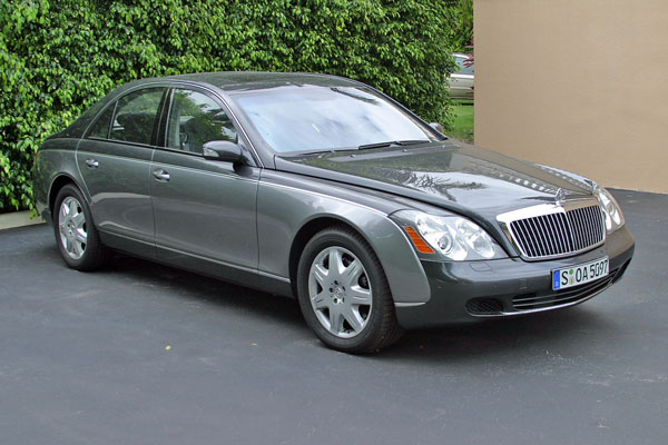 2004  Maybach 57  picture, mods, upgrades
