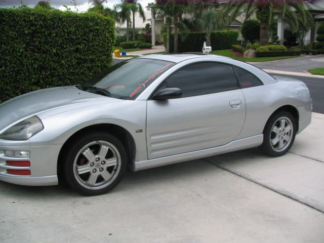 2000 Mitsubishi Eclipse GT 5 Spd 1/4 mile Drag Racing timeslip specs