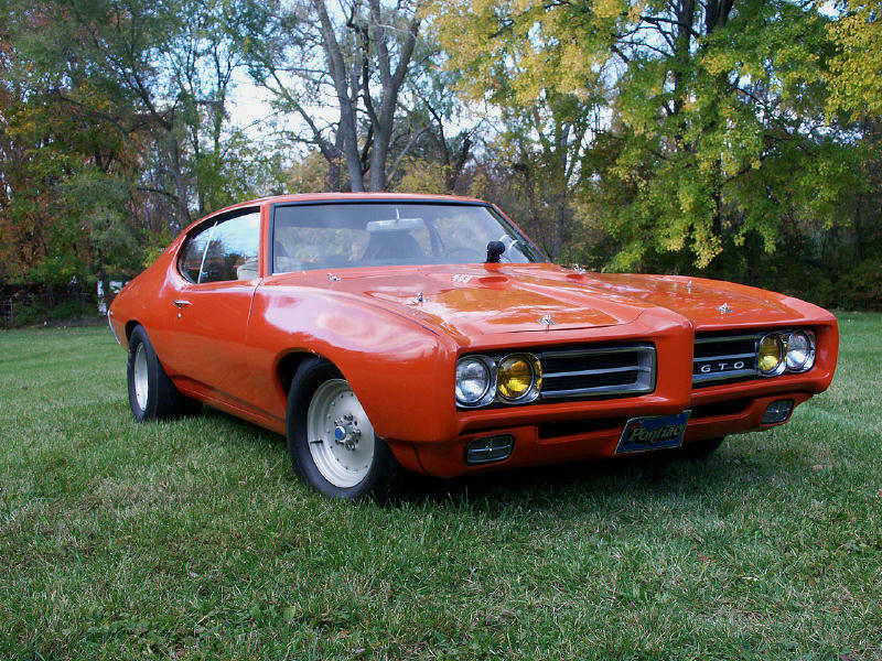 1969  Pontiac GTO Judge picture, mods, upgrades