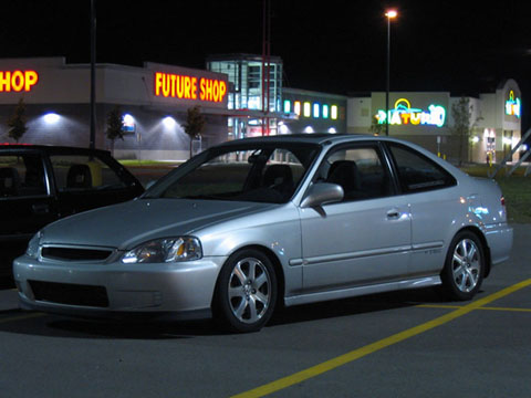 2000 Honda Civic SiR Turbo