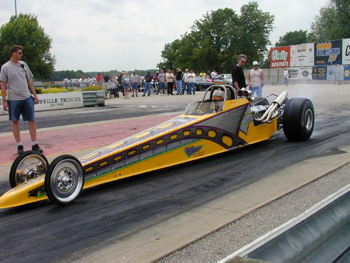 2004 Dragster Rear Engine 4-link 250 wb
