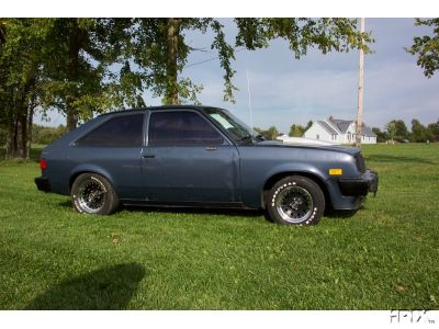 1983  Chevrolet Chevette Scooter picture, mods, upgrades