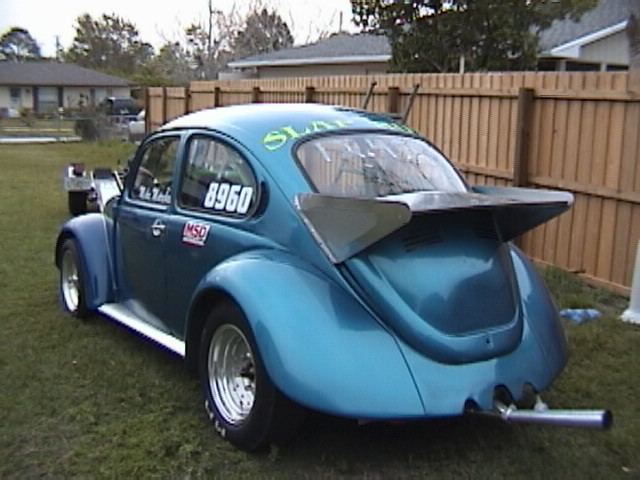 1973 Volkswagen Beetle pan car (drag)