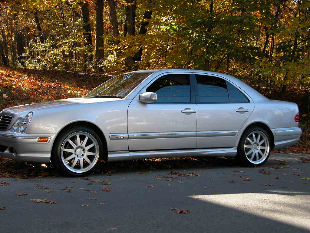 2000  Mercedes-Benz E430  picture, mods, upgrades