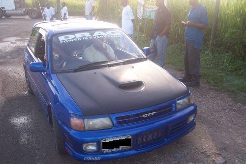 1990 Toyota Starlet Gt Turbo 1 4 Mile Drag Racing Timeslip