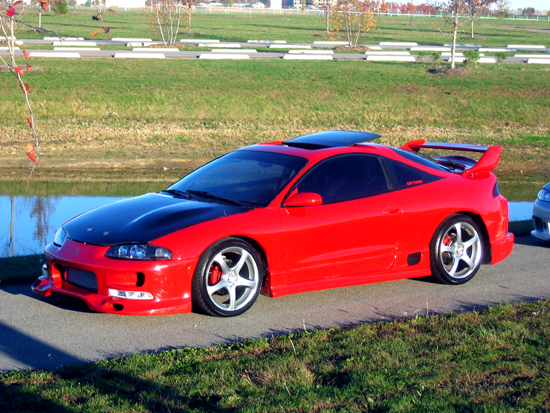 1996  Mitsubishi Eclipse GST picture, mods, upgrades