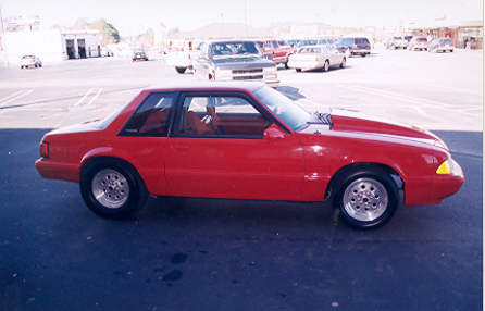 1989 Ford Mustang LX Coupe