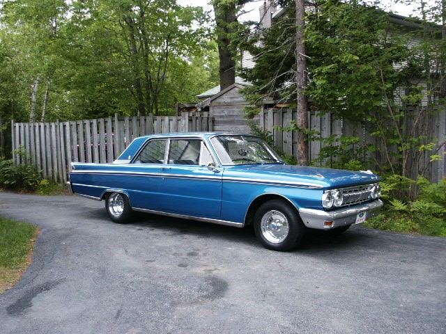 1963 Mercury Meteor Custom 2dr post
