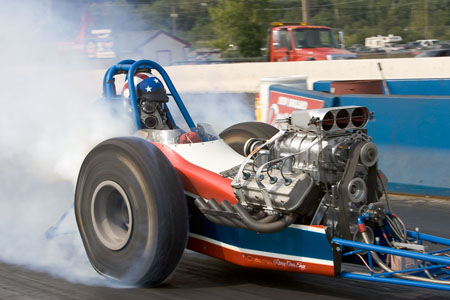 1968 Dragster Front Engine Gilmore chassis/Hanna body