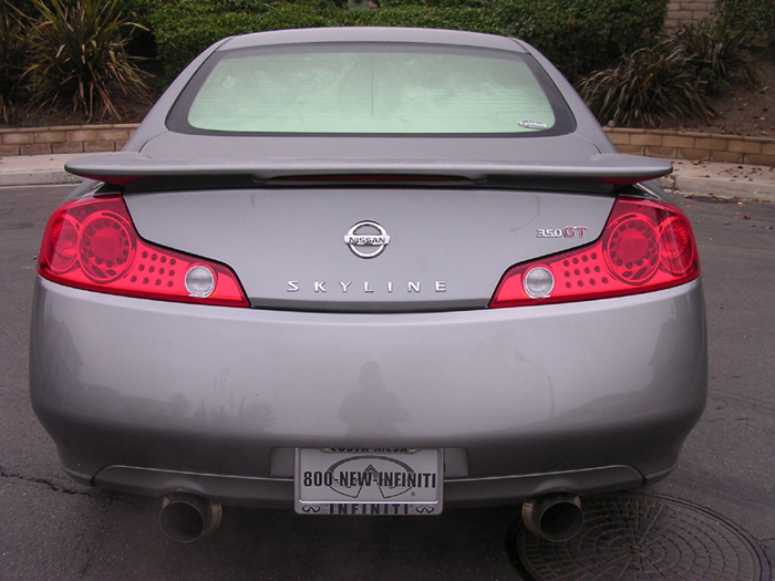 You can vote for this Infiniti G35 Sport Coupe 6MT to be the featured car of