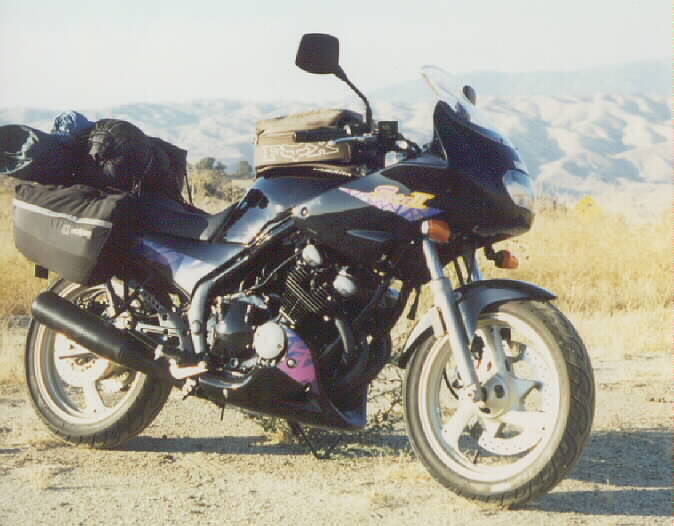 1994  Yamaha XJ 600S Seca II picture, mods, upgrades