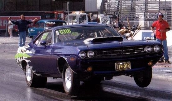 1971 Dodge Challenger 1/4 mile trap speeds 0-60 - DragTimes.com
