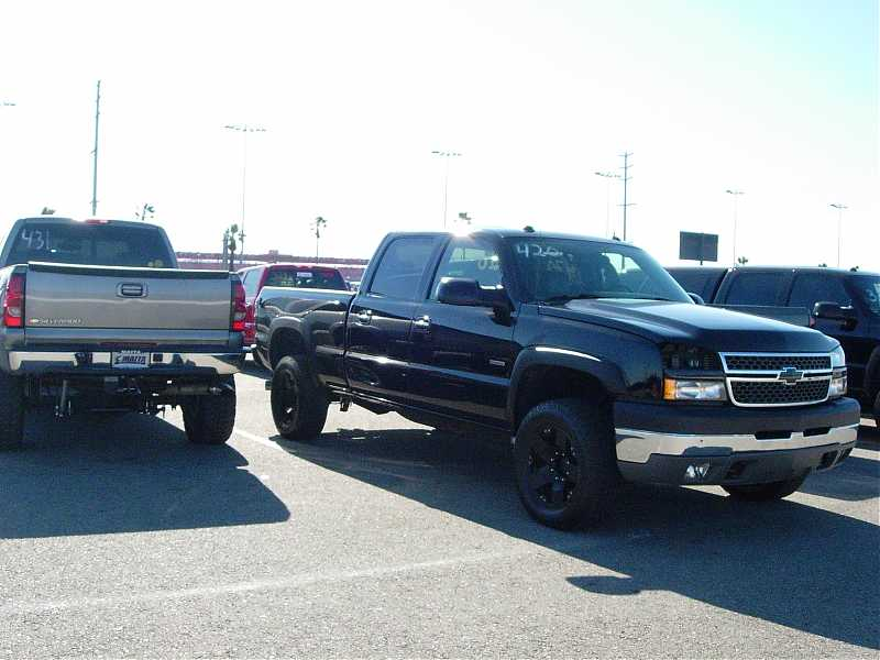 2005 Chevrolet CK2500 Truck Duramax LLY 1/8 mile Drag Racing timeslip