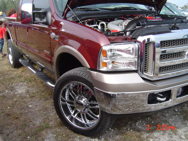 2007  Ford F250 king ranch nitrous picture, mods, upgrades