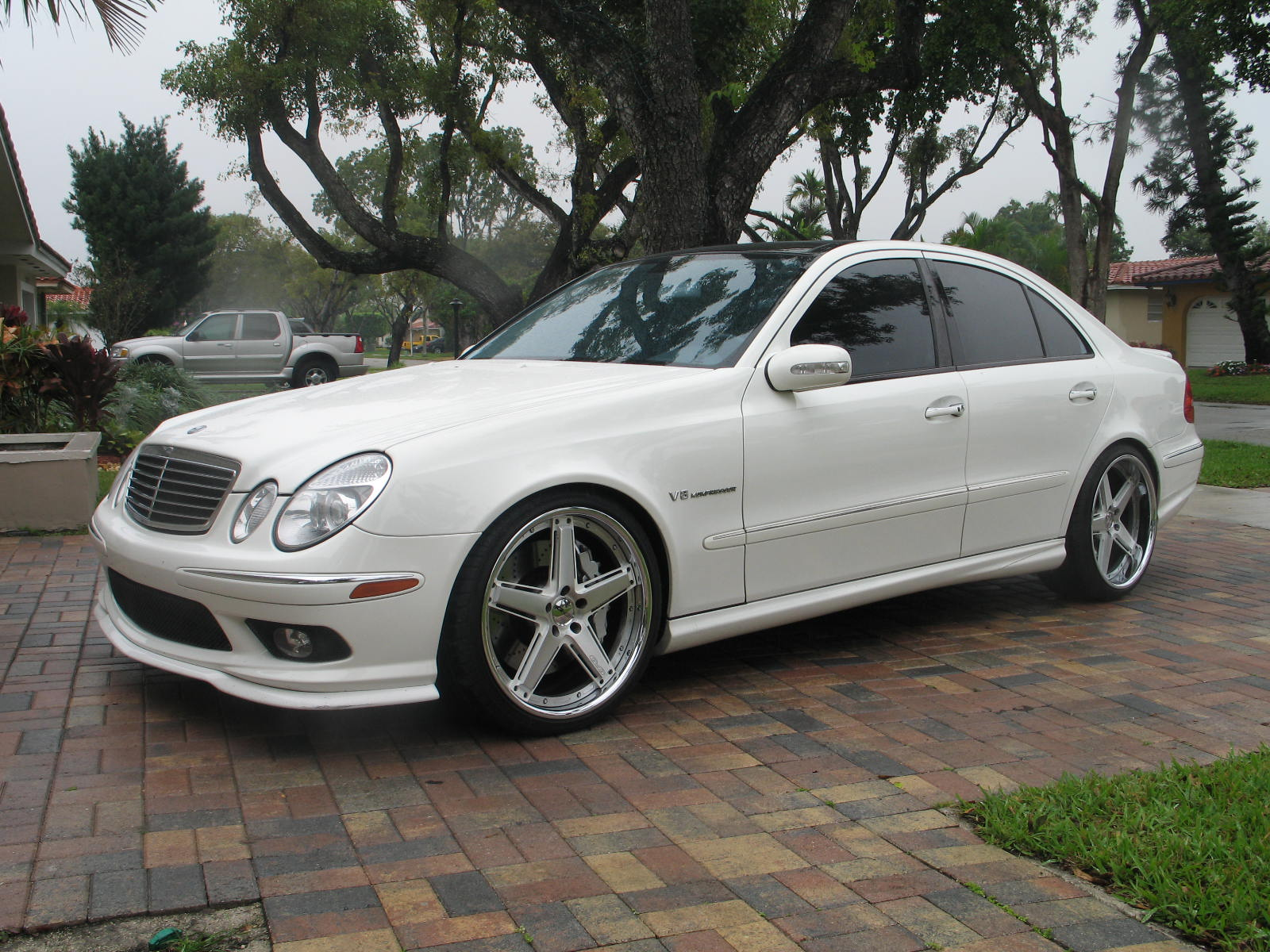 2005 Mercedes-Benz E55 AMG E55K 1/4 mile Drag Racing