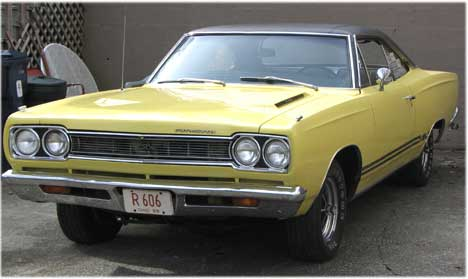 1968  Plymouth GTX  picture, mods, upgrades