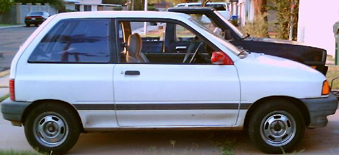 1990  Ford Festiva L picture, mods, upgrades