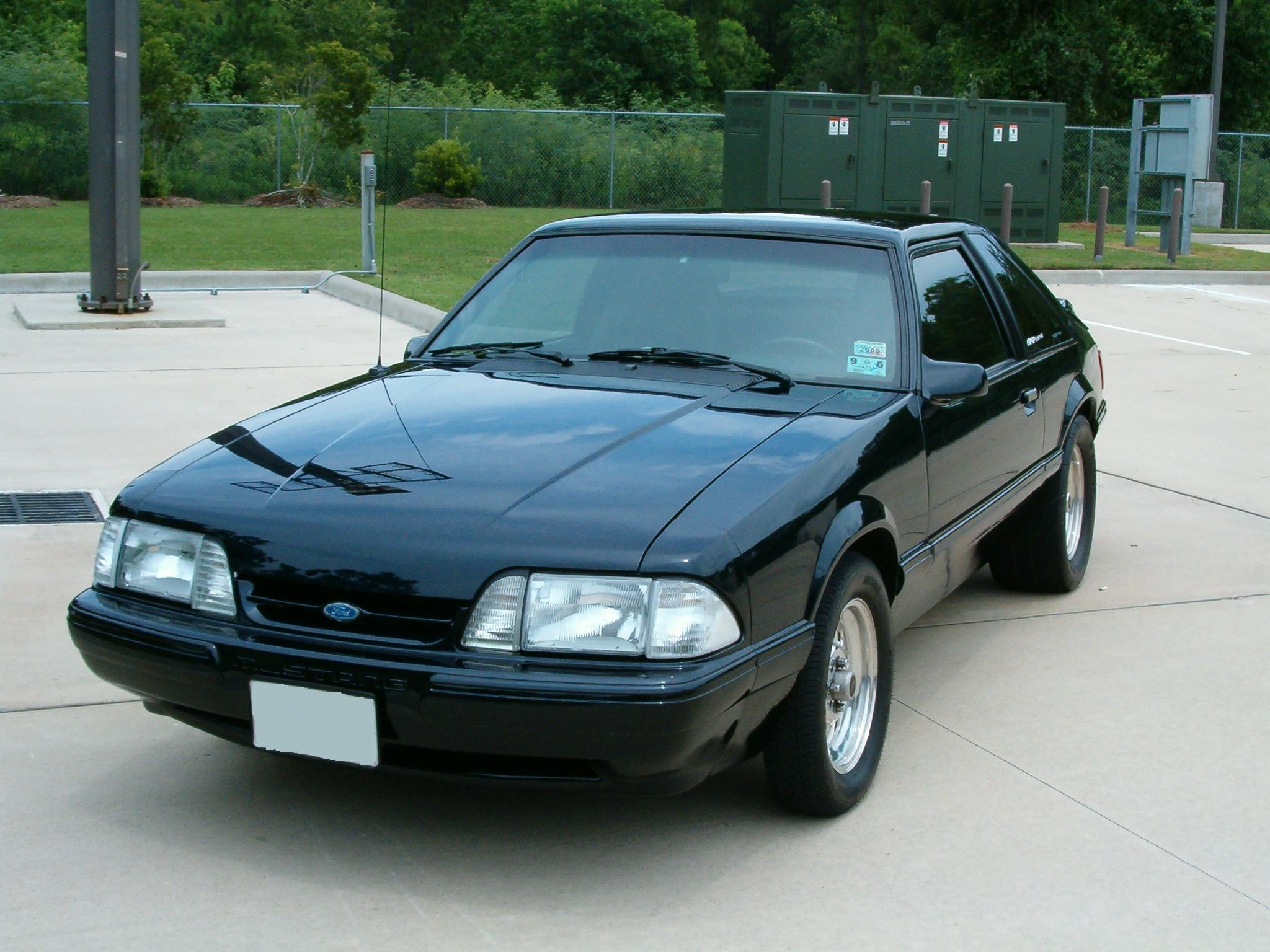 1989 ford mustang lx hatchback nitrous picture mods upgrades
