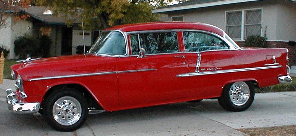 1955 Chevrolet Bel Air 2 DR SEDAN