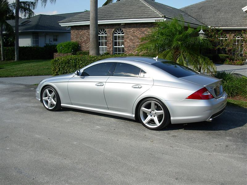 2007 Mercedes-Benz CLS550 AMG Sport Package 1/4 mile Drag Racing trap speed
