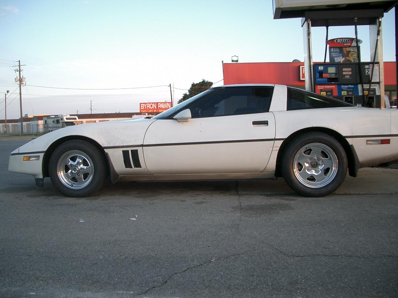 1985 Chevrolet Corvette L98 1/4 mile Drag Racing timeslip
