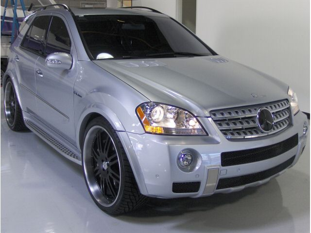 2007  Mercedes-Benz ML63 AMG  picture, mods, upgrades