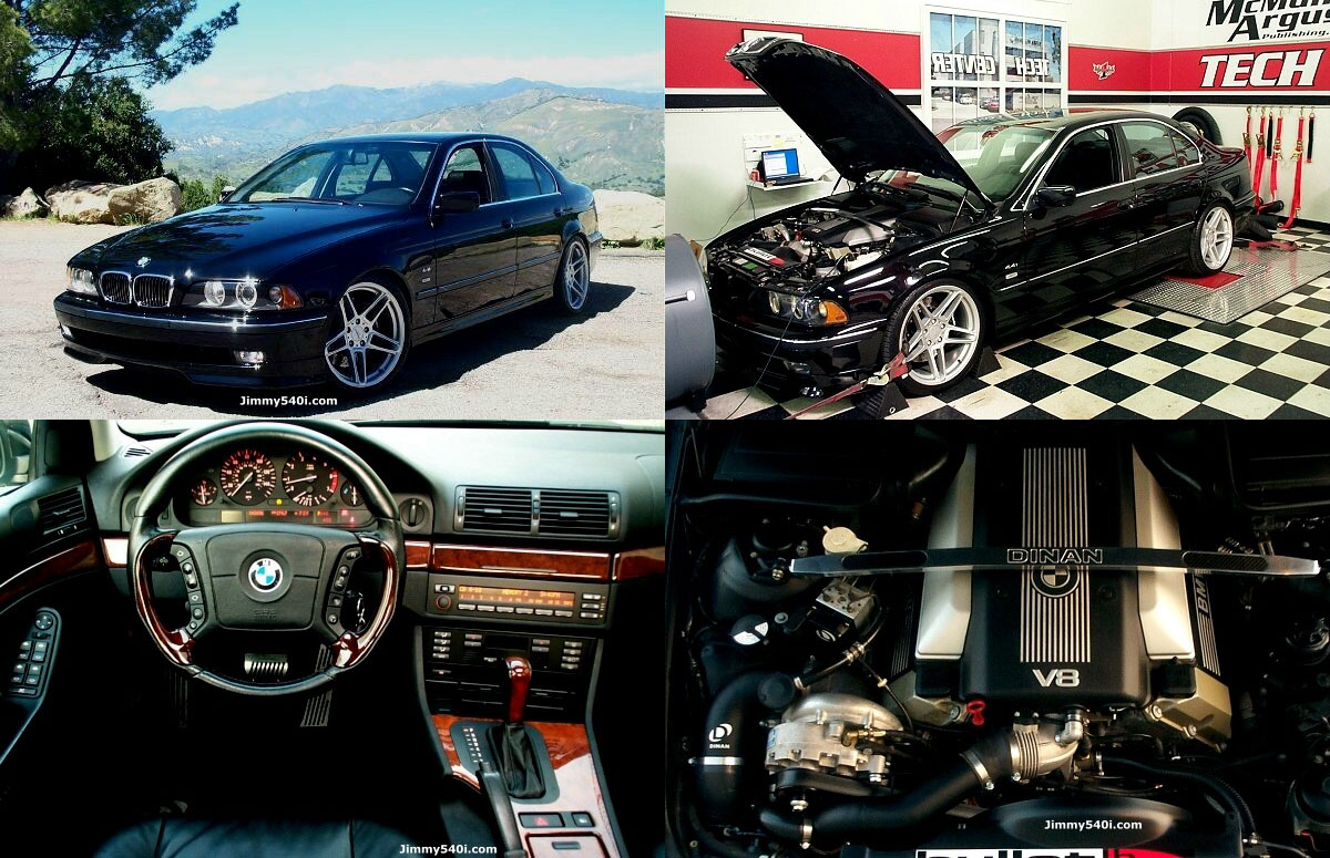 2000 BMW 540i Dinan Supercharger