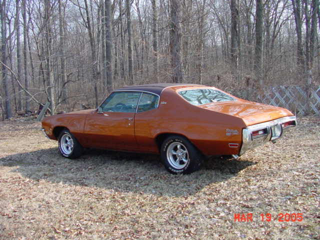 1972  Buick Sun Coupe GS picture, mods, upgrades