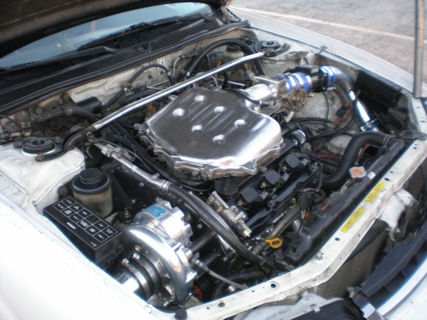 1996  Nissan Maxima GXE Vortech Supercharger picture, mods, upgrades