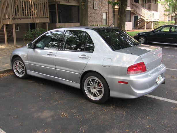2004  Mitsubishi Lancer EVO gsr picture, mods, upgrades