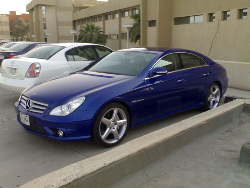 2006  Mercedes-Benz CLS55 AMG  picture, mods, upgrades