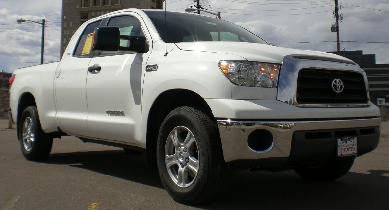 Stock 2007 Toyota Tundra Double Cab SR5 1/4 mile trap speeds 0-60 - DragTimes.com