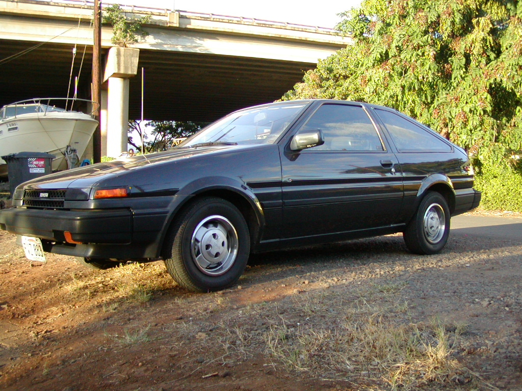 1985  Toyota Corolla SR-5 picture, mods, upgrades