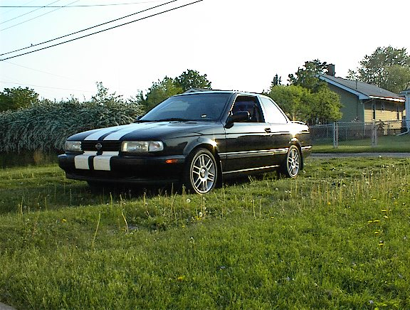 1992  Nissan Sentra SE-R picture, mods, upgrades