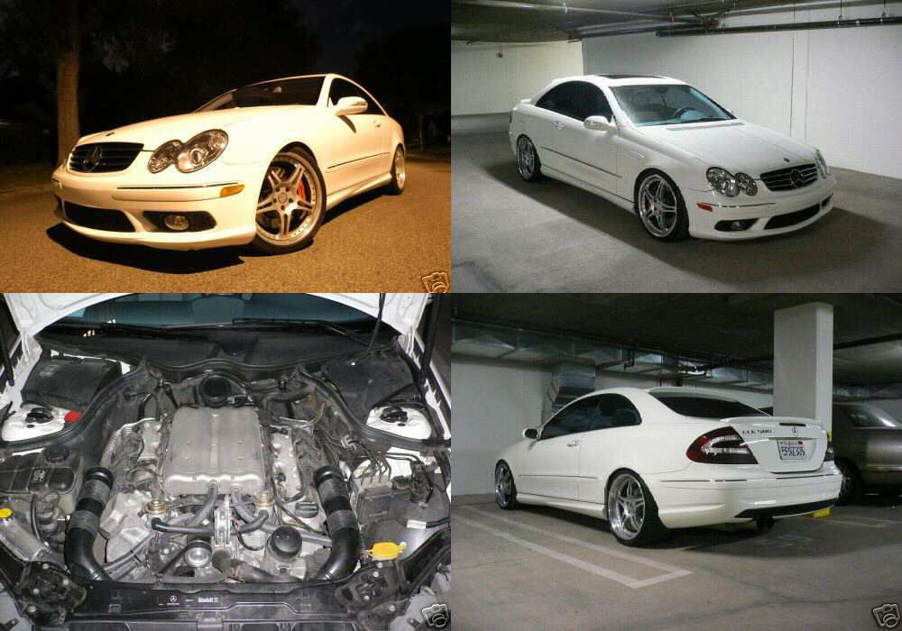 2003 Mercedes-Benz CLK500 Supercharger
