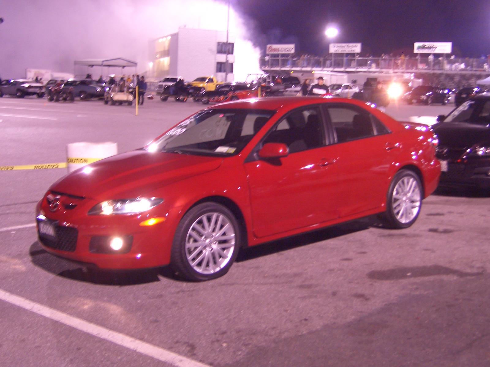2006 Mazda 6 Speed 1 4 mile Drag Racing timeslip specs 0 60